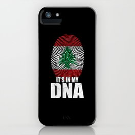 It's In My DNA iPhone Case