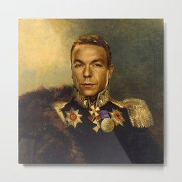 Sir Chris Hoy - replaceface Metal Print