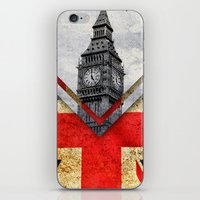 uk iPhone & iPod Skins featuring Flags - UK by Ale Ibanez