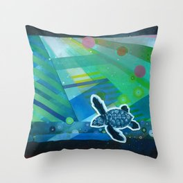 the first day Throw Pillow
