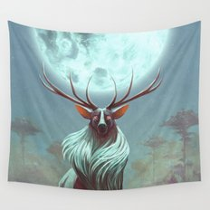 Night Prince Wall Tapestry