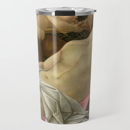 """Sandro Botticelli """"Venus and Mars"""" Mars Travel Mug"""