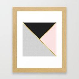 Gold Modern Art IX Framed Art Print