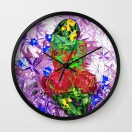 LayeredRealityNeonTail Wall Clock