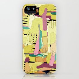 Color Hands iPhone Case
