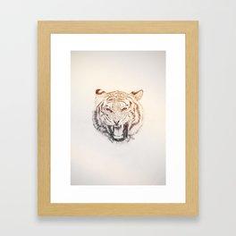 Timmy the Tiger Framed Art Print