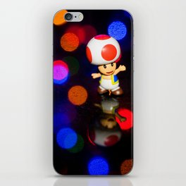 Dancing toad iPhone Skin