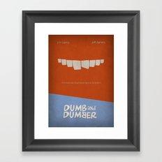 Dumb and Dumber Framed Art Print