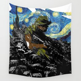 The Silent Soldier Wall Tapestry