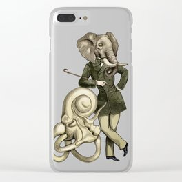 Eustachi the sculptor Clear iPhone Case