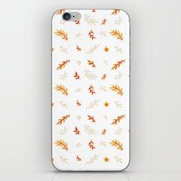 Watercolor autumn iPhone Skin