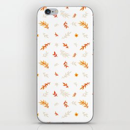 Watercolor autumn iPhone Skin