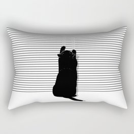 Cat Scratch Rectangular Pillow