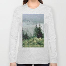 Pine Trees 2 Long Sleeve T-shirt