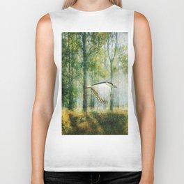 Magical Forests Impressionism Biker Tank