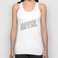 royal Tank Tops featuring Royal by Tyler Shaffer