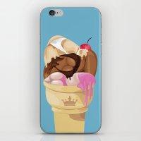 mcfreshcreates iPhone & iPod Skins featuring Girls Like Kings by McfreshCreates