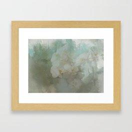 Abstract Tropical Flora Framed Art Print