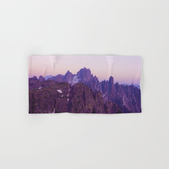 Mountains of Violet Hand & Bath Towel