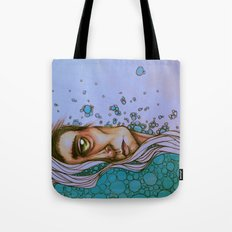 Floating On By Tote Bag