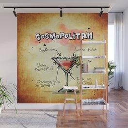 Cosmopolitan Wall Mural