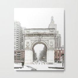 Washington Square Park Arch Metal Print