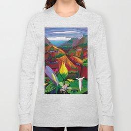 Mill Valley to Zen Gulch Long Sleeve T-shirt