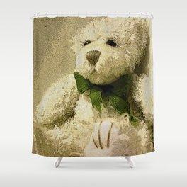 Daddy's Gift Teddy Bear Print Shower Curtain