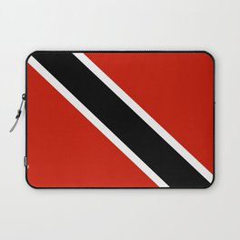 Trinidad and Tobago country flag Laptop Sleeve