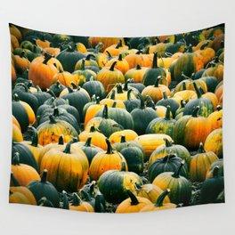 Pumpkins Rule! Wall Tapestry