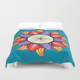 A Dollar for Your Sea Stars Duvet Cover