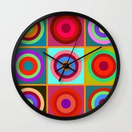 Kandinsky #20 Wall Clock