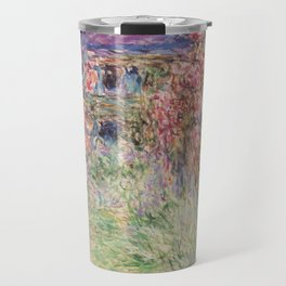 Monet, The House Among The Roses, 1917-1919 Travel Mug
