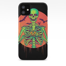 I Love Halloween iPhone Case