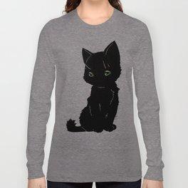 Black kitty Long Sleeve T-shirt