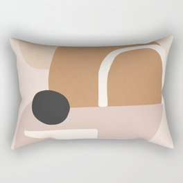 abstract minimal 24 Rectangular Pillow