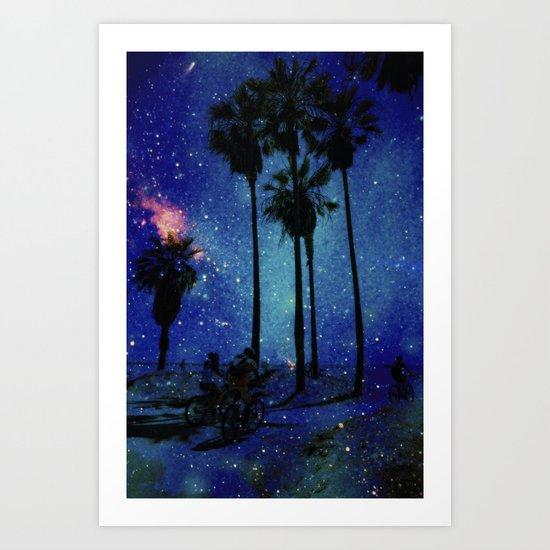 Magical Venice Art Print