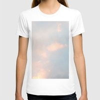 edinburgh T-shirts featuring edinburgh sky by Cassandra Tavukciyan
