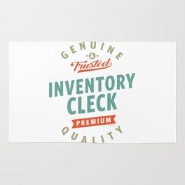 Inventory Clerk Rug