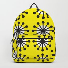 Geometric Pattern 141 (Yellow dandelion) Backpack