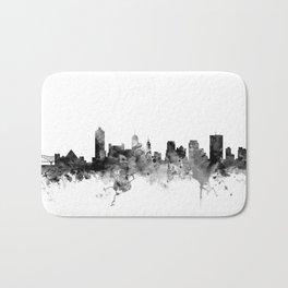 Memphis Tennessee Skyline Bath Mat