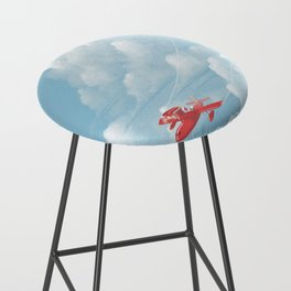 Porco Rosso flying Bar Stool