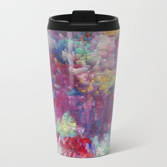 Abstract 170 Metal Travel Mug