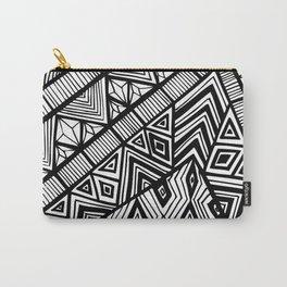 Original Geometric ink-pen print Carry-All Pouch