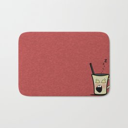 Sleepy Time Coffee  Bath Mat