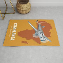 Casablanca - Alternative Movie Poster Rug