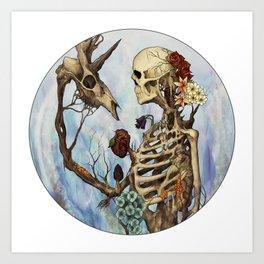 Flourishing Symbiosis Art Print
