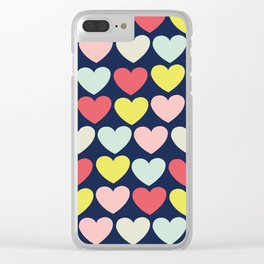 OH Love! Pattern Clear iPhone Case