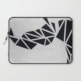 Geo Rhino (oil painting) Laptop Sleeve