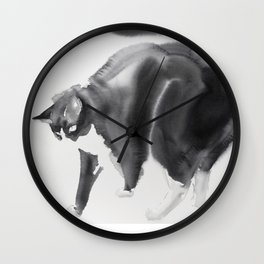Bubi, my cat Wall Clock
